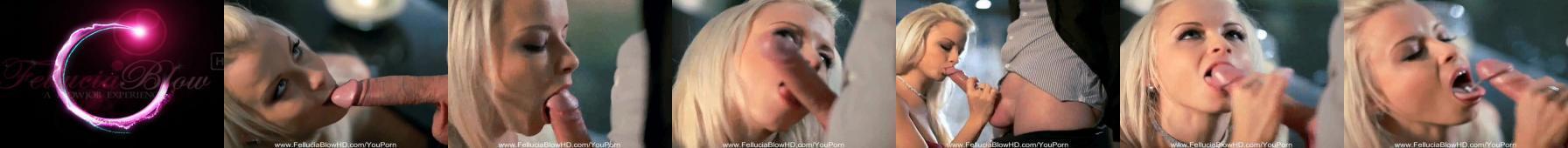 Blondi fantasticky kouří