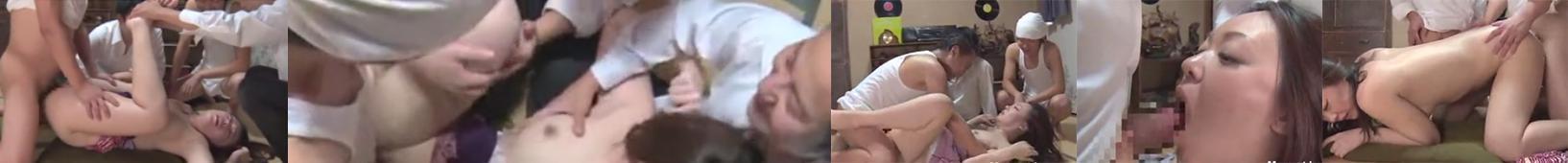 Pijana mamuśka zgwałcona przez grupę chłopców