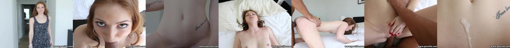 laseczka dostała spermę na brzuch