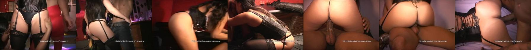 Azjatka wyruchana na imprezie - sex party