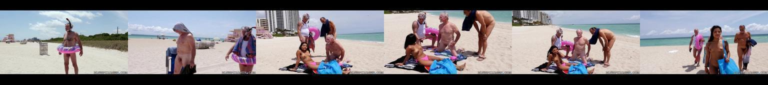 Nastoletnia latynoska i trzech staruchów na wakacjach