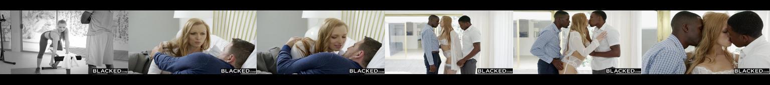Layna Landry zdziwiona faktem że mąż nie jest zły za zdradę, a nawet zachęca ją do seksu z dwoma Murzynami