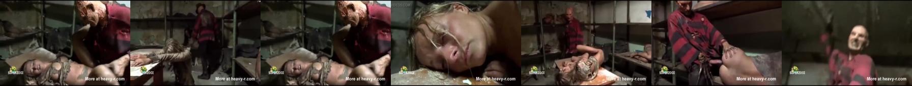 Zgwałcone przez postać z horroru