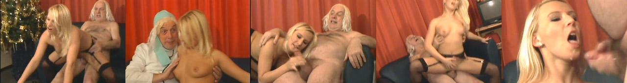 Młoda Polka rucha się z dziadkiem