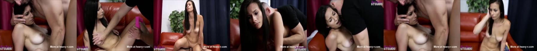 Nastoletnia dziewczyna jest sex-zabawką ojca