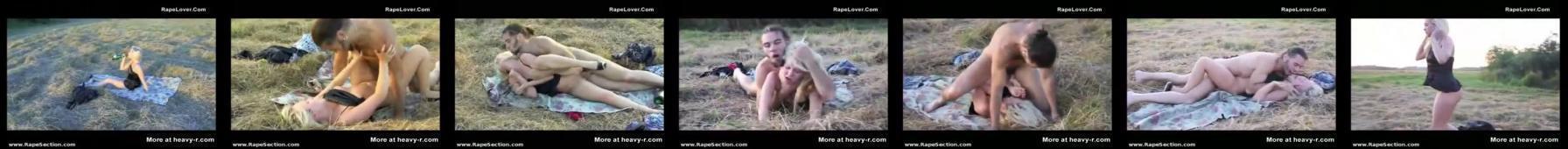 Dziewczyna na kocyku zgwałcona przez podglądacza
