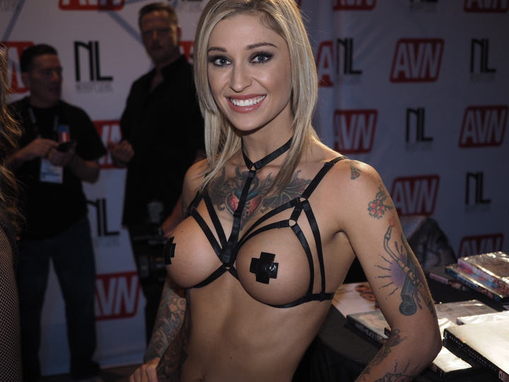 Gwiazda porno Kleio Valentien